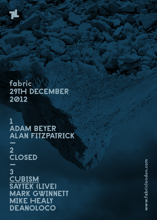 fabric+Adam+Beyer